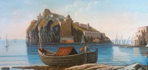 Castello Aragonese Ischia - undated painting