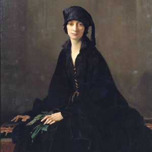 George Spencer Watson - A_lady in black