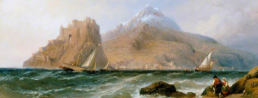 1857 Clarkson Frederick Stanfield - Ischia and Castello