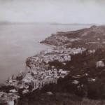 Ischia fine 1800 - Casamicciola Panorama dall'Albergo della Piccola Sentinella