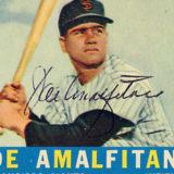 Joe Amalfitano, baseball Ischia