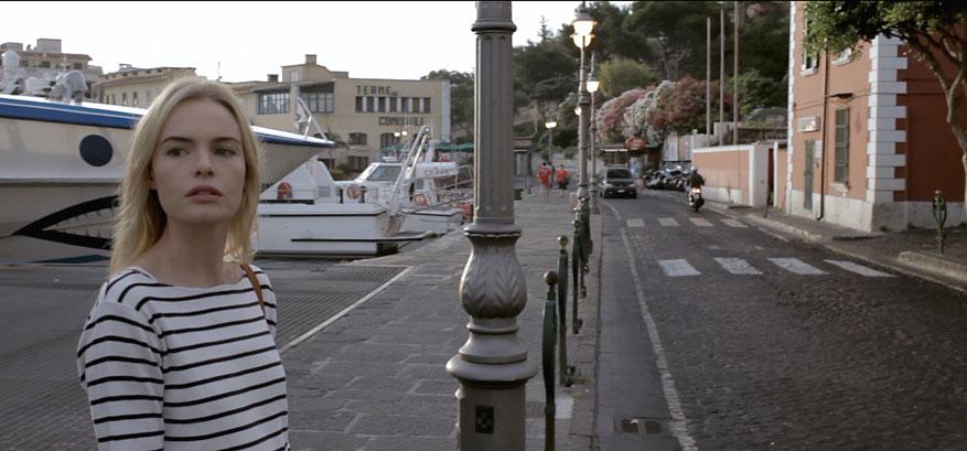 Scena del film al Porto d'Ischia