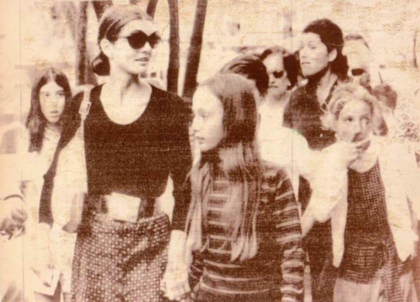 jackie kennedy ischia 1970
