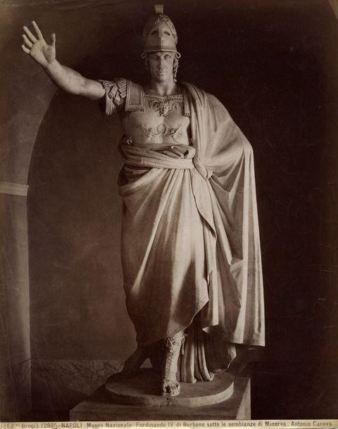 statua ferdinando I di borbone