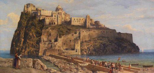 LUDWIG FRANZ KARL BOHNSTEDT - Castello Aragone 1878