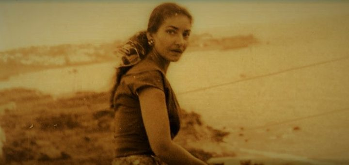 Maria Callas a Ischia, negli anni '50