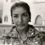 Primo piano Maria Callas