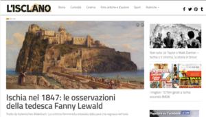 Home page del sito www.isclano.com