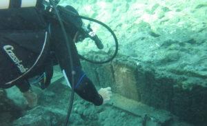 Ischia Archeologia - Aenaria resti della banchina portuale