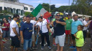 Gianni Sasso rientro al porto d'Ischia 2