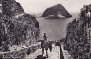 Anni '50, cartolina storica d'Ischia