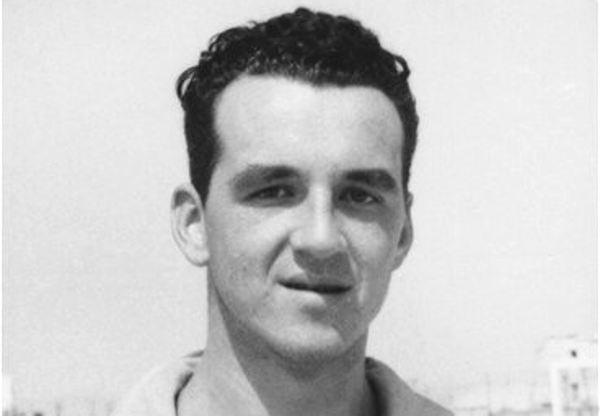 Bruno Pizzul nelle vesti di calciatore. Per lui esperienze con Catania e Ischia