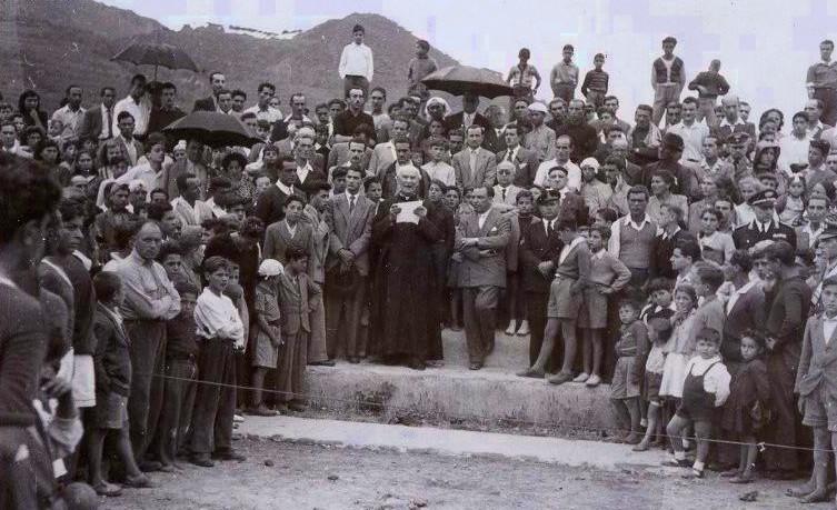 Maggio 1949, commemorazione grande Torino al campo Rispoli di Ischia