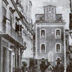 Ischia Ponte Via Luigi Mazzella agli inizi del Novecento