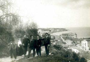 Ischia Ponte - Via Soronzano negli anni '20