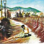 Ischia Ponte, pescatori negli anni '60