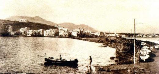 Calata Ischia Ponte ai piedi del Castello Aragonese