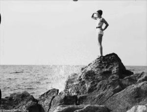 Baia di San Montano d'Ischia - Foto dagli Archivi di Friburgo 1933
