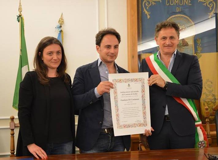 Nino Di Costanzo chef stelle michelin comune di ischia