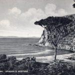 Baia di San Montano Ischia - Cartolina anni 30
