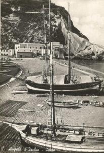 Barche a Sant'Angelo negli anni '50