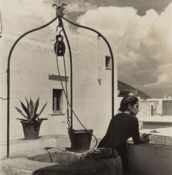 Ischia foto antiche Herbert List Sant'Angelo 1934