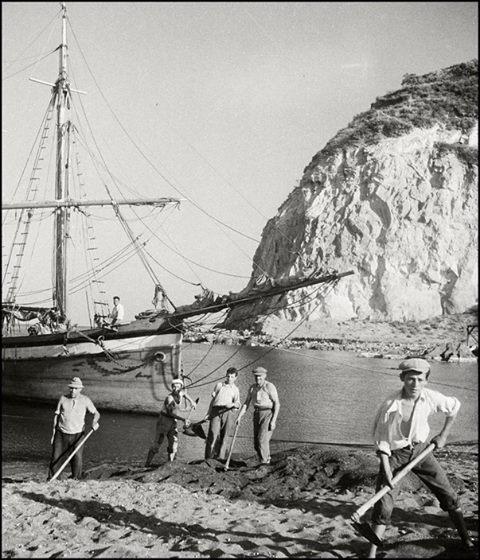 Ischia negli Anni '30: pescatori di Sant'Angelo