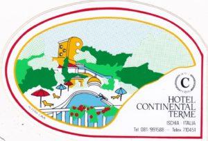 Pubblicità Alberghi Ischia - Hotel Continental Terme