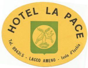 Pubblicità Alberghi Ischia - Hotel la Pace