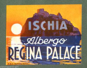 Pubblicità Alberghi Ischia - Regina Palace