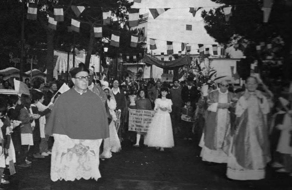 Ischia Festa Santa Restituta: Processione del 1984