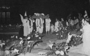 Festa Santa Restituta Ischia - Santa portata sulla spiaggia