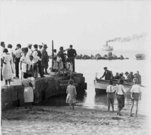 Lacco Ameno Porto - 1933 Archivio di Friburgo