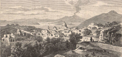 Casamicciola xilografia 1881
