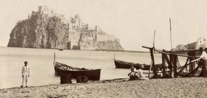 Ischia Castello Aragonese 1875