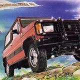 Aro Ischia automobile anni 80 Suv