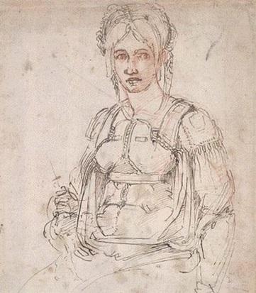 Michelangelo Ischia Vittoria Colonna ritratto