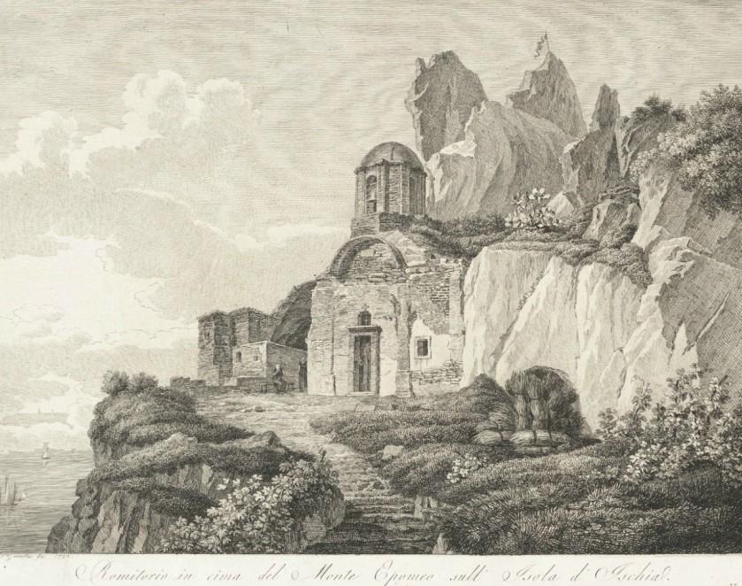 1792 Eremo Monte Epomeo Serrara Fontana - Storia e letteratura di Ischia