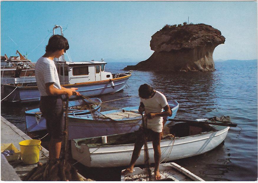 Foto Ischia anni 60 Fungo pescatori