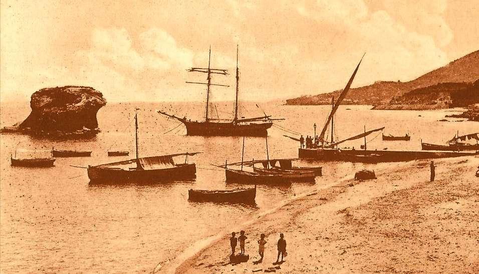 Foto antiche Ischia Lacco Ameno Fungo