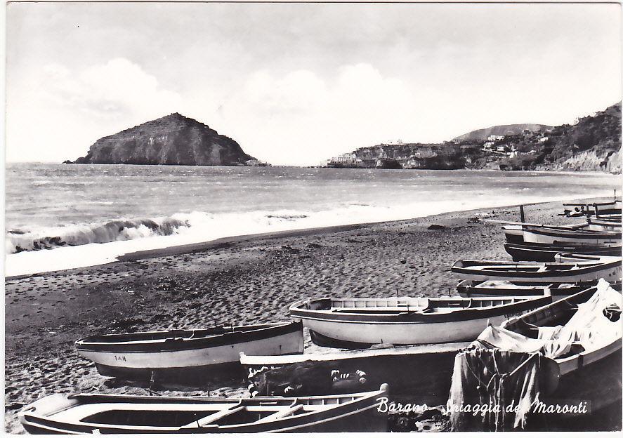 Spiaggia dei Maronti Barano Ischia anni 40